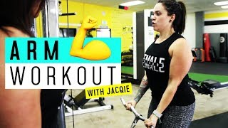 Arm Workout || Jacqie Rivera