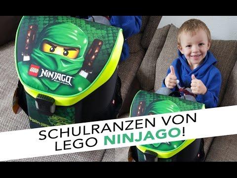 Lego NINJAGO Schulranzen - Die richtige Wahl?! | Sabrina Andexer