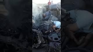 ДТП со смертельным исходом в Караганде.
