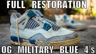 OG 1989 MILITARY BLUE 4 FULL RESTORATION