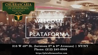 Churrascaria Plataforma | Churrascaria Plataforma NYC - Timelapse - Video Youtube