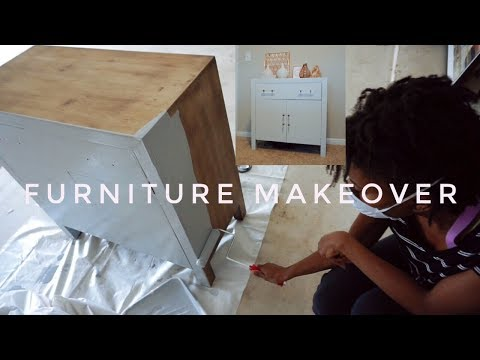 DIY | Furniture Makeover | Home Office Transformation