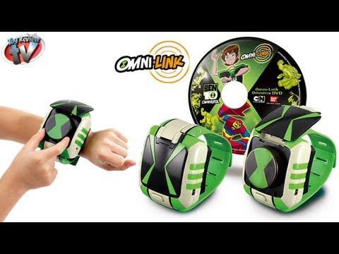 ᐈ Ben 10 Omniverse Omni-Link Omnitrix Toy Review, Bandai ...