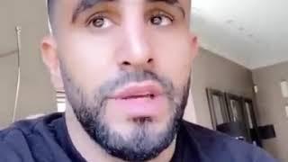 Coronavirus : Riyad Mahrez passe un message au nom de toute l'équipe nationale aux algériens