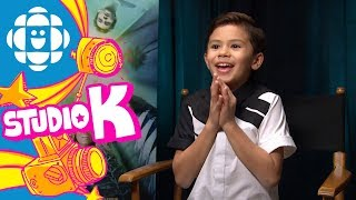 Tony Talks with Deric McCabe from A Wrinkle in Time | CBC Kids - dooclip.me