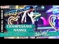Champesaave Nannu Full Song With English Lyrics|Nenu Local |Nani, Keerthy Suresh|Devi Sri Prasad
