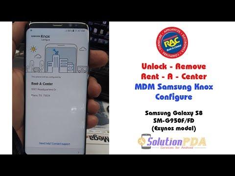 Remove MDM PayJoy Rent A Center SmartPay Samsung Galaxy S8
