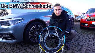 VOGEL AUTOHÄUSER - Die BMW Schneekette - Wie wird sie montiert?