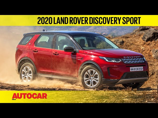 2020 Land Rover Discovery Sport - More Than Just A Facelift | First Drive Review | Autocar India