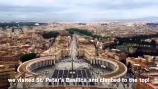 NCS Rome Pilgrimage 2016