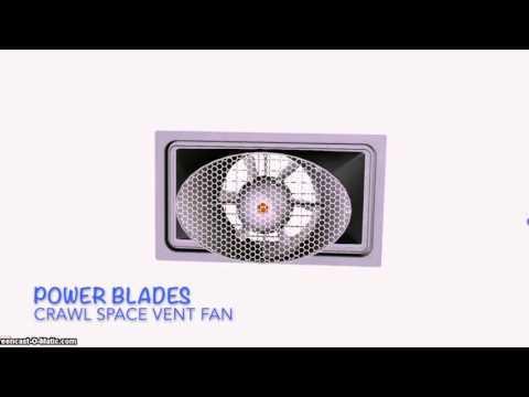 Power Blades Fan – 3D Rendering