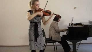 YTSO   Violin   Sen-Sans   Fendrikova  Elena