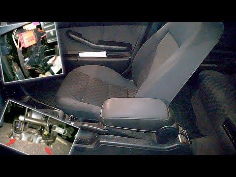 Как снять передние и заднее сиденья Ауди А6 С5 (Пассат Б5) в кузове седан