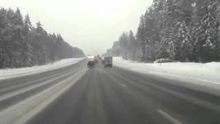 Accident Viewed From Police Cam