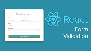 React Form Validation Tutorial