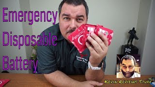 Kingberry Disposable Battery
