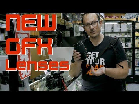 Fuji GFX new lenses and roadmap