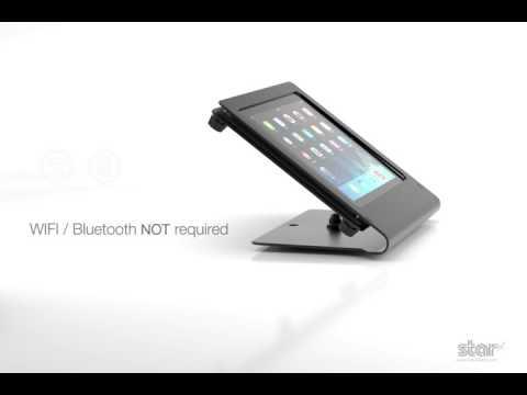 Star TSP143IIIU USB POS Receipt Printer - iPad Direct Connect video thumbnail