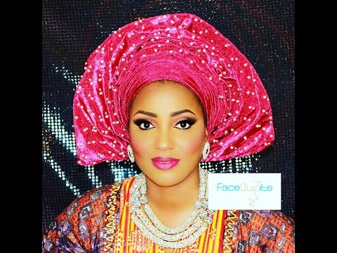 How to: Traditional Nigerian (Yoruba) Bridal Makeup and Gele