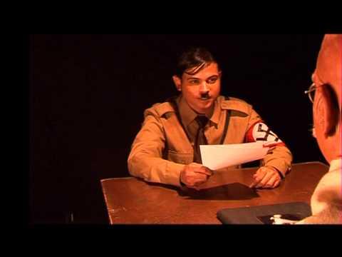Short film about Hitler and Gandhi