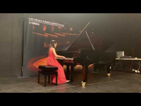 Roslyn Lee' a student of Cindy Lee won the first place in 2019 Yamaha Competition.