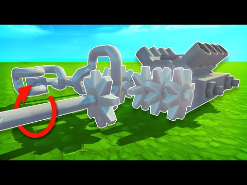 3-Speed Gear Powered Drive System! - Scrap Mechanic Creations!