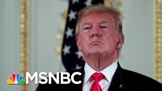 President Donald Trump Distracted During '20 Campaign Meeting: NYT   Morning Joe   MSNBC