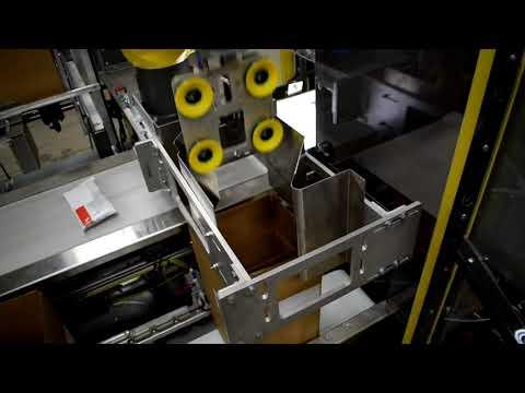 Robotic Case Divider Inserter