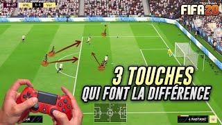 TUTO FIFA 20 - 3 TOUCHES QUI FONT LA DIFFÉRENCE