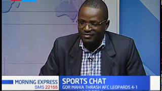 Gormahia beat AFC Leopards 4-1 | Sports Chat