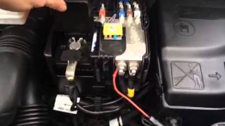 Explanation on how to install an ABAX4-unit on Peugeot / Citroen Vans.