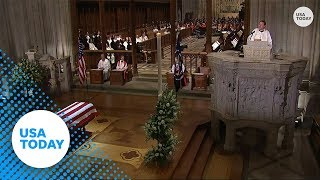 George H.W. Bush funeral: Rev. Dr. Russell Levenson Jr.'s full homily