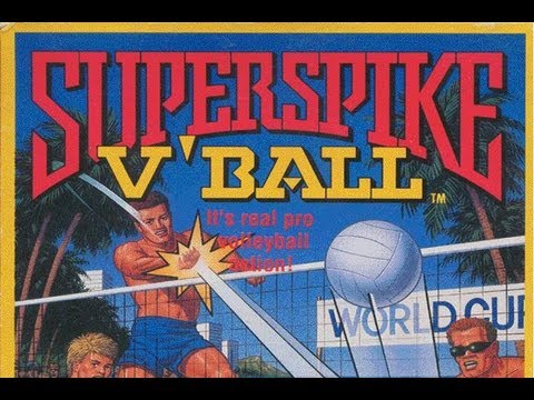 CGRundertow SUPER SPIKE V'BALL for NES Video Game Review