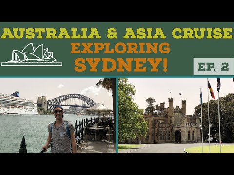 Cruise to Australia l Exploring Sydney l Cruise Vlog l Ep. 2