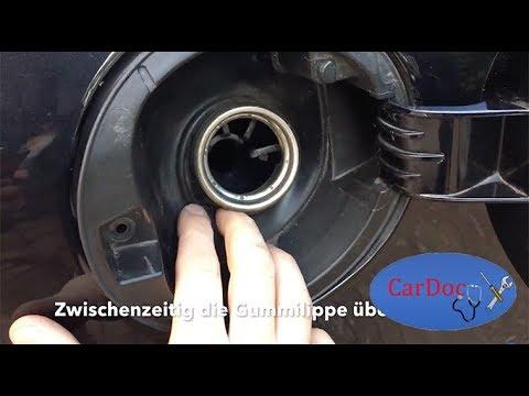 Tankdeckel ausbauen/wechseln Golf 5/V 1K