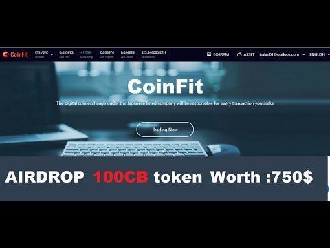 CoinFit БИРЖА монета CB 100 PC  750 USD  БИРЖА! Собираем 00 00 12 00 03 04