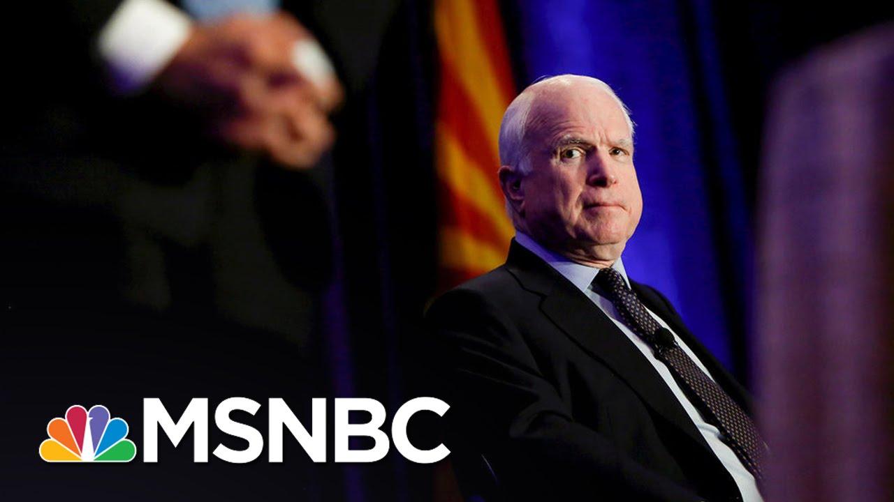 John McCain Senate Challenger: He's 'Old' And 'Weak'   MSNBC thumbnail