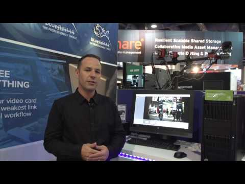 Bluefish444 IngeSTore at NAB Show 2017