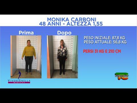 Lottando per perdere peso a 44 anni