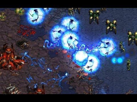 Horang2 (P) v Larva (Z) on Gladiator 1.1 - StarCraft  - Brood War REMASTERED