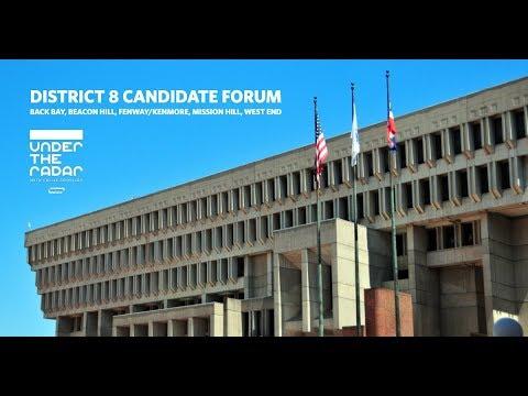 Under the Radar LIVE: Boston City Council District 8 Candidates