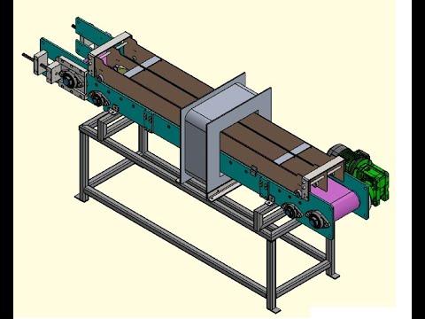 Demagnetization Unit With Belt Conveyor