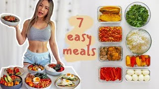 7 Healthy Meals Under 30 Mins 🥗Budget Meal Prep Challenge!