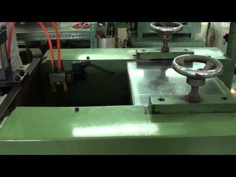 equipo para hacer aletas o laminas de laton o cobre