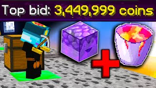 FASTEST MILLIONAIRE METHOD In Hypixel Skyblock! (2 hours)