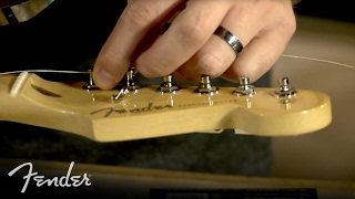 How to Change Your Electric Guitar Strings   Fender