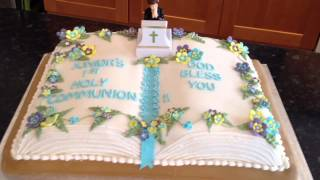 Holy Communion Cake.