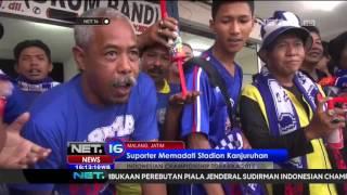 Suporter Memenuhi Stadion Kanjuruhan  NET 16