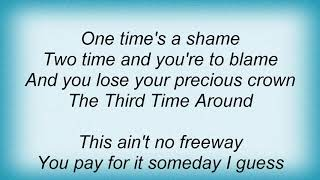 Angie Aparo - Third Time Around Lyrics