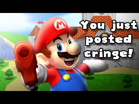 A Rom Hack About The Time Mario Posted Cringe